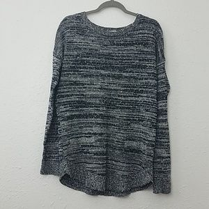 LOFT factory pullover sweater sz Large speckled